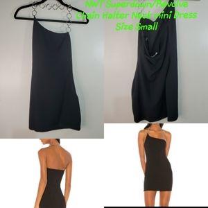 NWT Superdown/Revolve Chain Halter neck dress